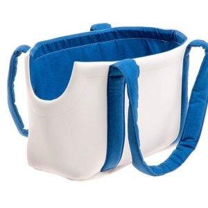 کیف حمل سگ و گربه ferplastمدل ترزور سفید آبی